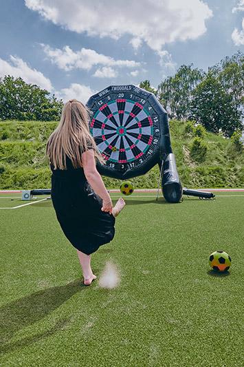 Fußball Dart spielen Hamburg