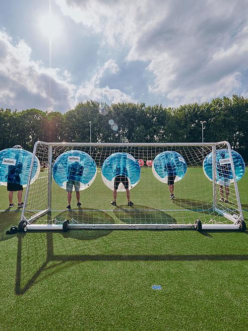 Bubble Football spielen Bremen