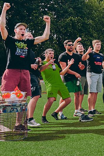 Fussballdart spielen Kiel